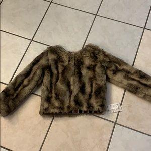 Other - Jak Peppar Fur/Plaid Reversible Coat